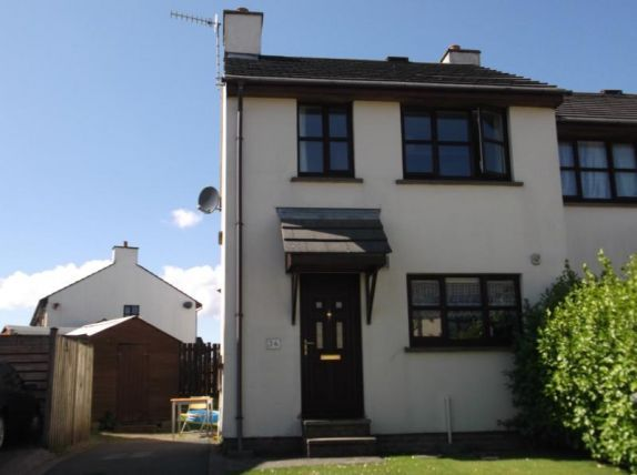 Thumbnail Town house to rent in Campion Way, Abbeyfields, Douglas