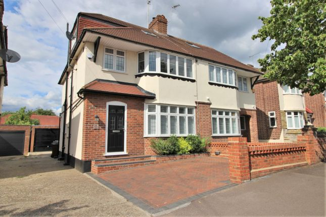 Thumbnail Semi-detached house for sale in Hawkwood Crescent, Chingford