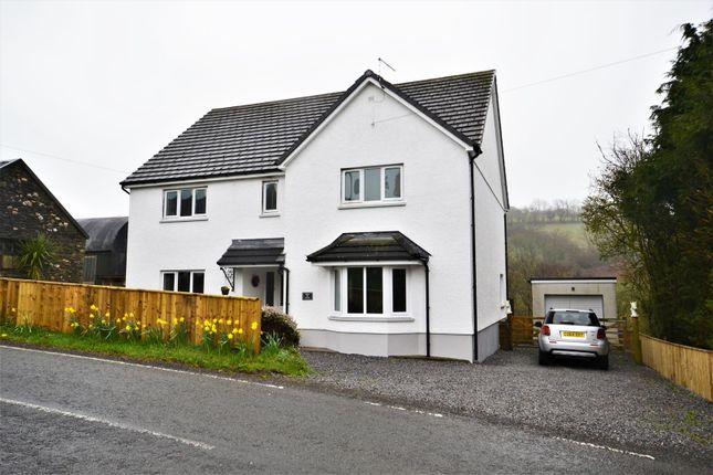 Thumbnail Detached house for sale in Felingwm, Carmarthen