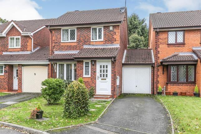 Thumbnail Link-detached house for sale in Davis Grove, Birmingham, West Midlands