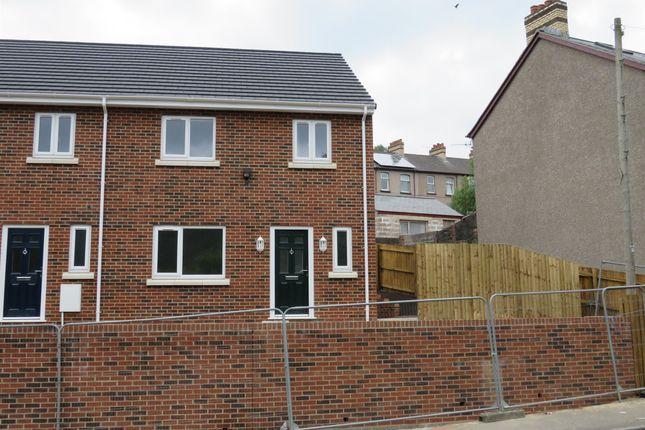 Thumbnail End terrace house for sale in Duffryn Road, Wattsville, Newport