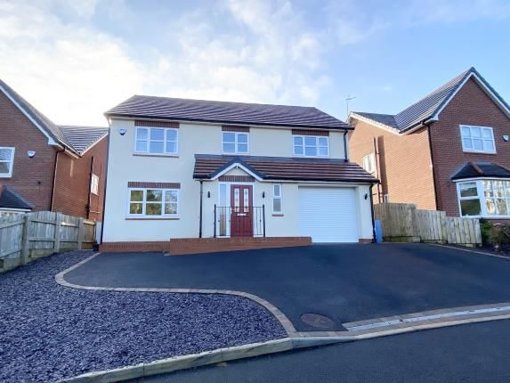 Thumbnail Detached house for sale in Cwrt Cranfield, New Brighton, Mold, Flintshire