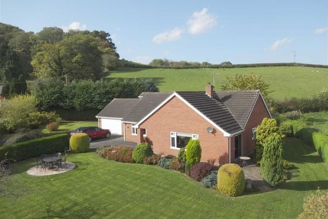 3 bed detached bungalow for sale in Woodlea, Garthmyl, Montgomery, Powys
