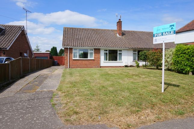 Thumbnail Semi-detached bungalow for sale in Church Lane, Brantham, Manningtree