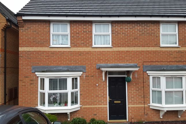 Thumbnail Semi-detached house to rent in Avonmouth Drive, Derby