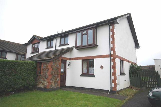 Thumbnail Semi-detached house to rent in Clinton Gardens, Merton, Devon