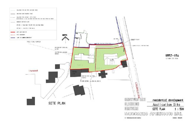 Thumbnail Land for sale in Blackbrook, Belper