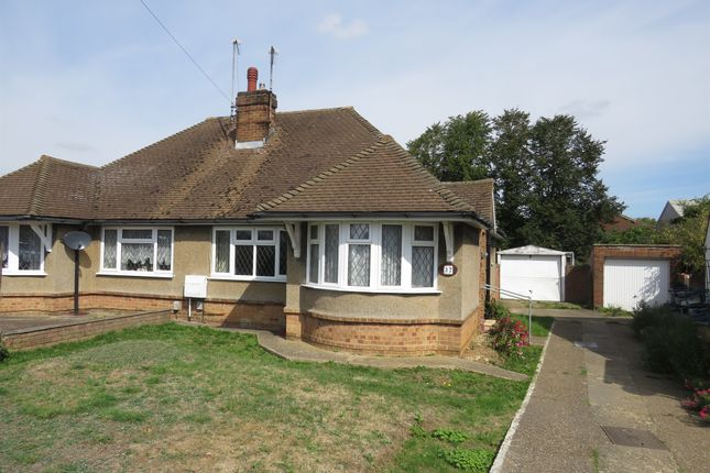 Thumbnail Semi-detached bungalow for sale in Stormont Road, Hitchin