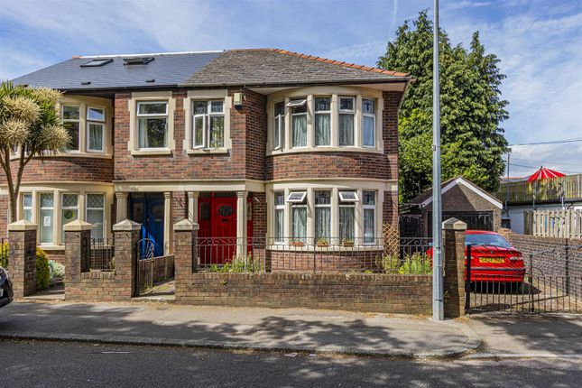 Thumbnail Semi-detached house for sale in Waungron Road, Llandaff, Cardiff