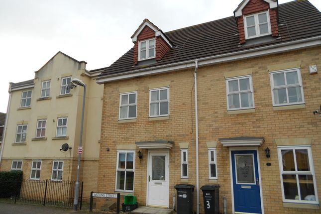 Thumbnail Town house to rent in Watling Street, Yeovil
