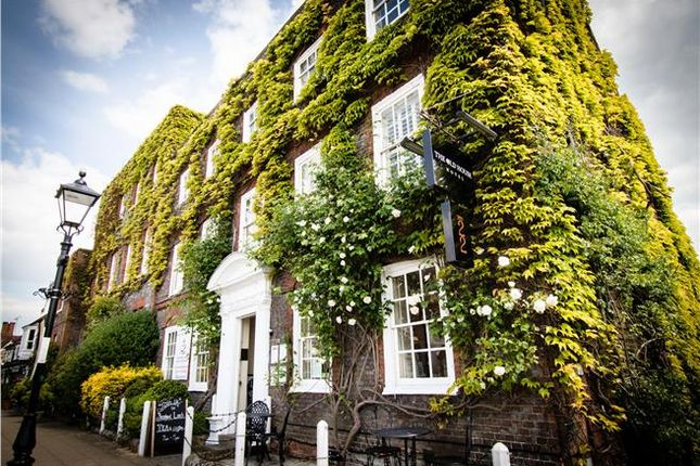 Thumbnail Hotel/guest house for sale in The Old House Hotel, The Square, Wickham, Fareham, Hampshire