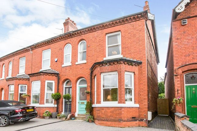 Thumbnail Semi-detached house for sale in The Crescent, Northwich, Cheshire