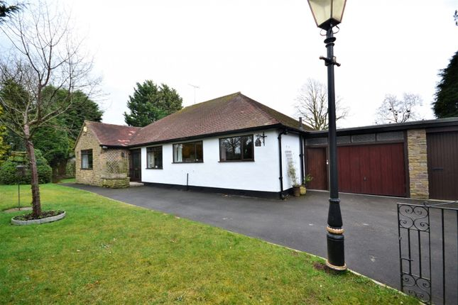 Thumbnail Detached bungalow for sale in Gawsworth Road, Gawsworth, Macclesfield