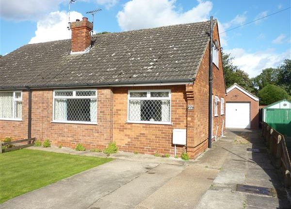 Thumbnail Semi-detached bungalow for sale in St Francis Grove, Laceby, Grimsby