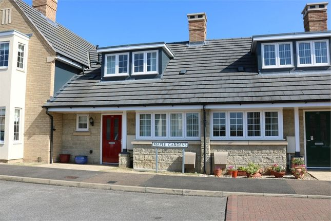 Thumbnail Terraced bungalow for sale in Maple Gardens, Bourne