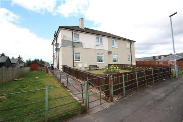 Thumbnail Flat for sale in Hopes Avenue, Dalmellington, Ayr