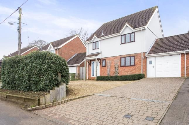 Thumbnail Link-detached house for sale in Sporle, King's Lynn, .