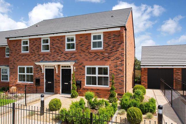 "Thumbnail Semi-detached house for sale in ""Archford"" at Carters Lane, Kiln Farm, Milton Keynes"