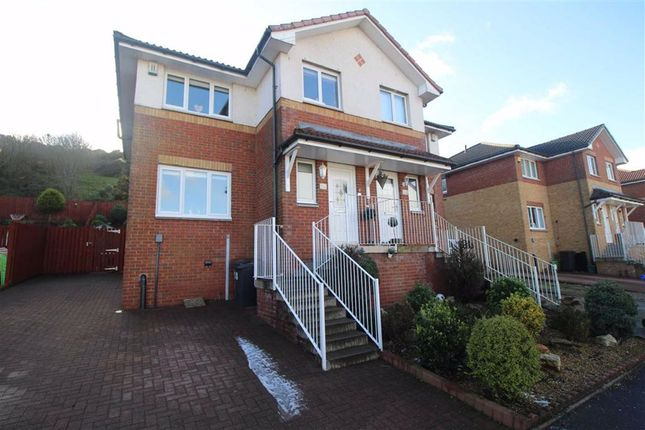 Thumbnail Semi-detached house for sale in Killochend Drive, Greenock, Renfrewshire