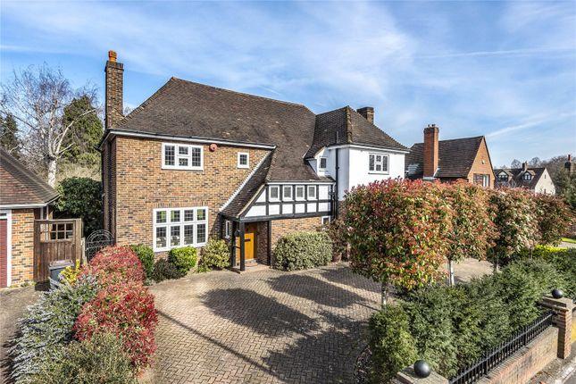 Thumbnail Detached house for sale in Stone Park Avenue, Beckenham