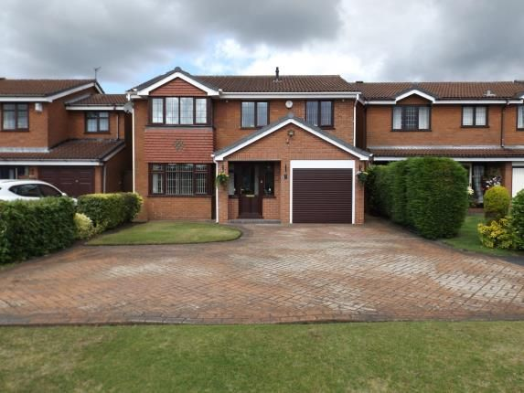 Thumbnail Detached house for sale in Rowan Drive, Essington, Wolverhampton, Staffordshire