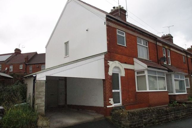 Thumbnail End terrace house to rent in Crofton Avenue, Yeovil