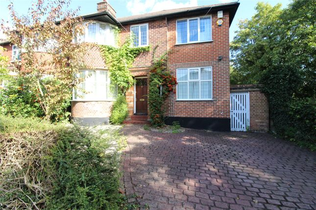 Thumbnail Semi-detached house to rent in Fursby Avenue, London
