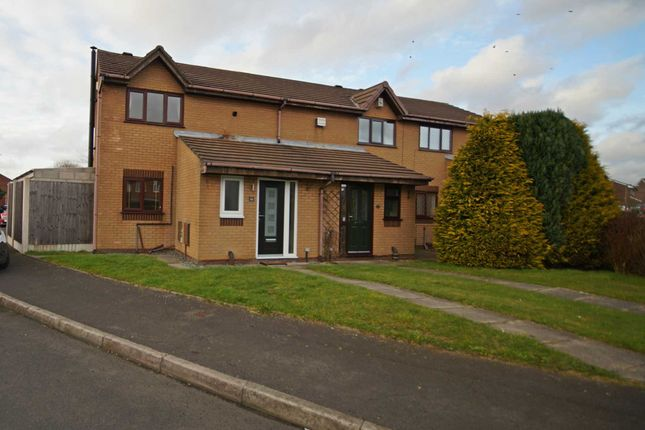 Thumbnail Semi-detached house to rent in Captain Lees Road, Westhoughton, Bolton