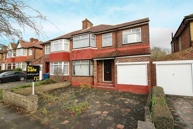 Thumbnail Semi-detached house for sale in Wetheral Drive, Stanmore