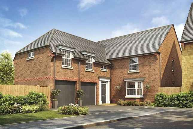 "Thumbnail Detached house for sale in ""Oulton"" at New Road, Tankersley, Barnsley"