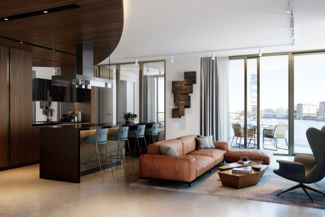Thumbnail Flat for sale in 201 One Park Drive, Canary Wharf, London
