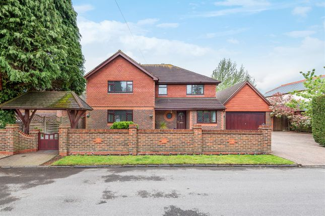 Thumbnail Detached house for sale in Waldens Road, Horsell, Woking
