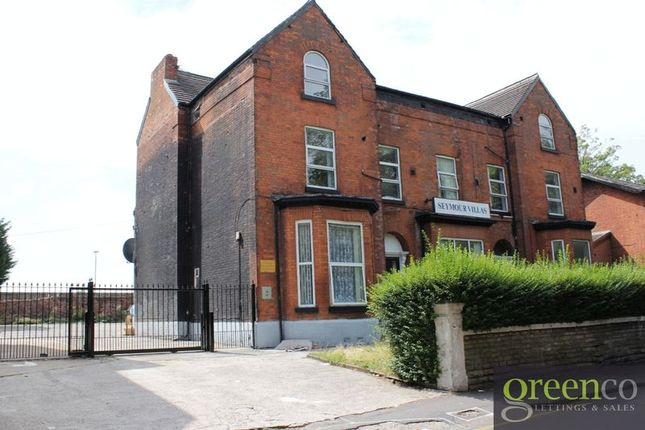Thumbnail Flat to rent in Seymour Road, Crumpsall, Manchester