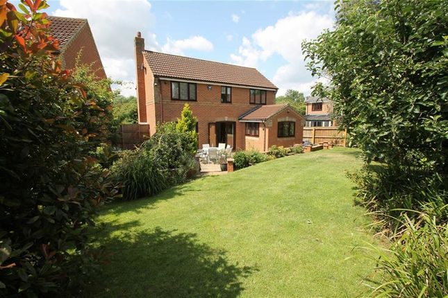 Thumbnail Detached house for sale in Quilter Meadow, Old Farm Park, Milton Keynes, Bucks