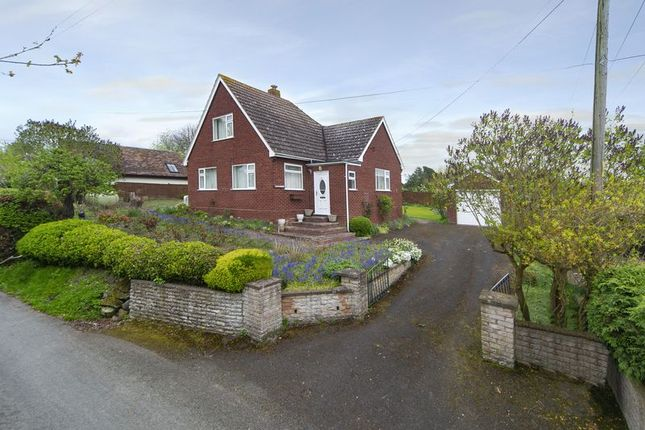 Thumbnail Detached bungalow for sale in Homestead, Bennets Lane, Eaton Constantine, Shropshire.