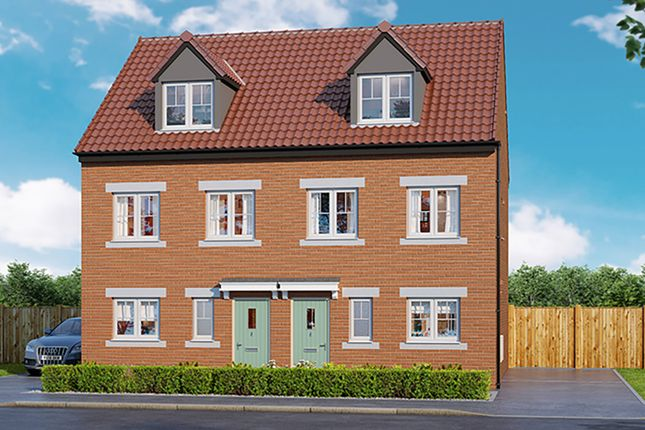 "Thumbnail 3 bed property for sale in ""Bamburgh"" at Langton Road, Norton, Malton"