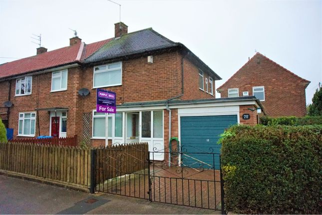 Thumbnail End terrace house for sale in Wivern Road, Hull