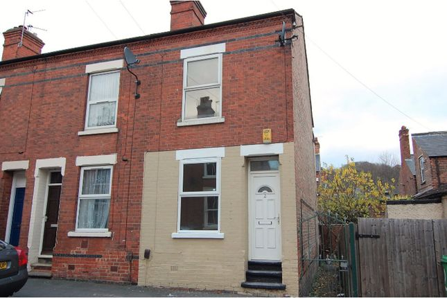 Thumbnail End terrace house for sale in Lyndhurst Road, Sneinton