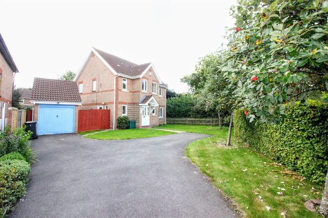 Thumbnail Detached house for sale in Lyme Way, Abbeymeads, Swindon