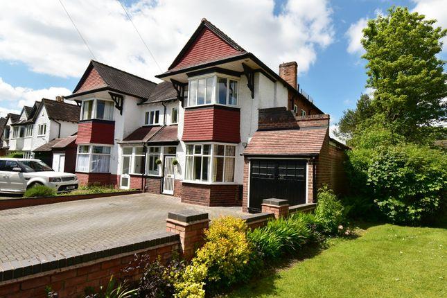 Thumbnail Semi-detached house for sale in Paradise Lane, Hall Green, Birmingham