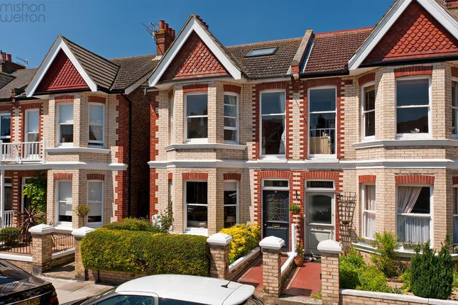 Thumbnail Semi-detached house for sale in Worcester Villas, Hove
