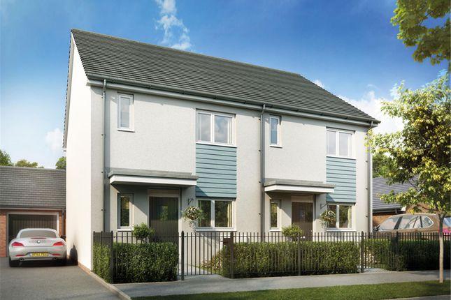 Thumbnail Semi-detached house for sale in Plot 222 The Mirin, Glan Llyn, Newport