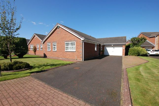Thumbnail Detached bungalow for sale in Carr Field, Ponteland, Newcastle Upon Tyne
