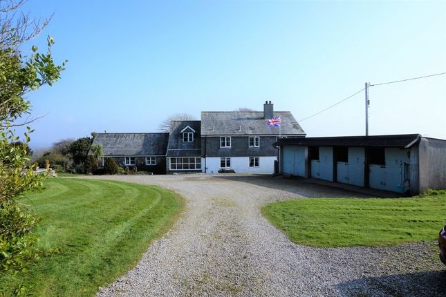 Thumbnail Detached house for sale in St. Winnolls, Torpoint