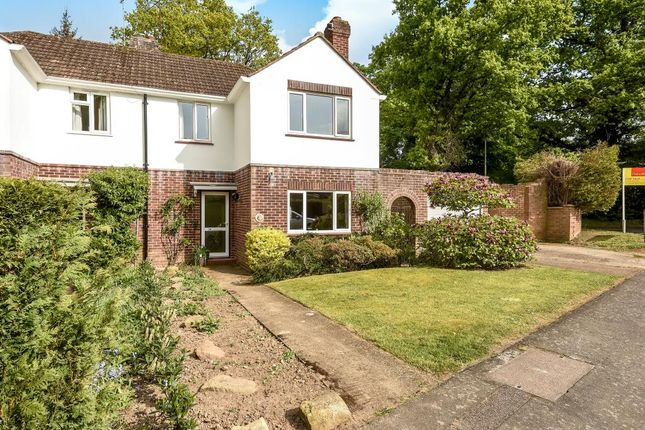 Thumbnail Semi-detached house for sale in Harpesford Avenue, Virginia Water
