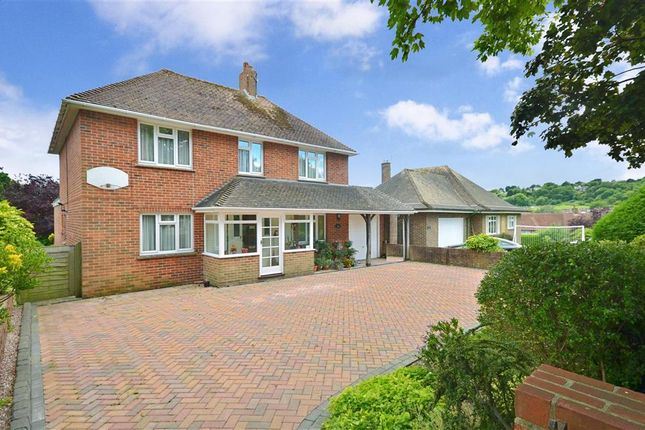 Thumbnail Detached house for sale in Central Avenue, Findon Valley, West Sussex