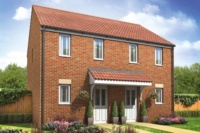 """Thumbnail Semi-detached house for sale in """"The Morden"""" at Primula Close, Weymouth"""
