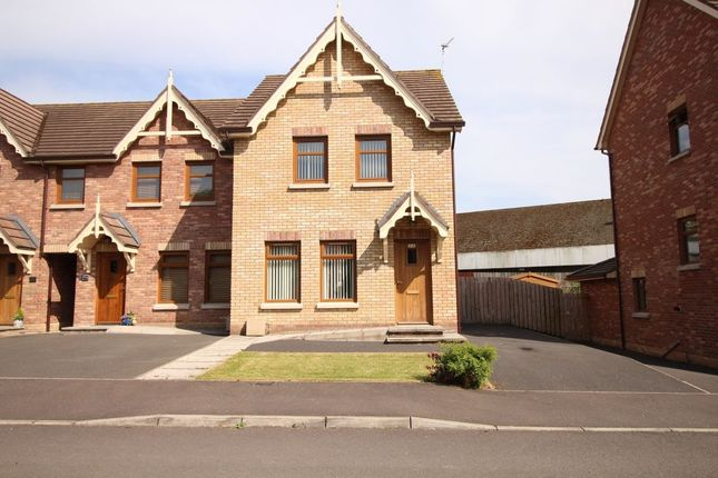 Thumbnail Terraced house to rent in River Hill Drive, Newtownards