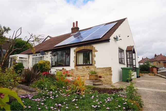 Thumbnail Semi-detached bungalow for sale in Hill End Close, Leeds