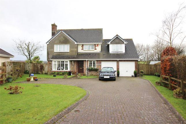 5 bed detached house for sale in Highfield Close, High Bickington, Umberleigh